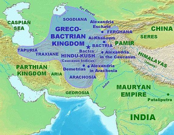 shakas maues rudradaman menander indo greek kingdom