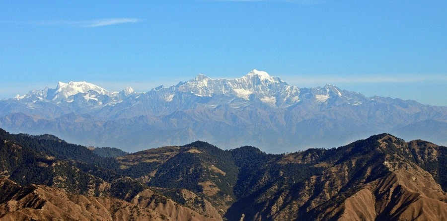 shivalik hills lesser himalayas trans himalayas