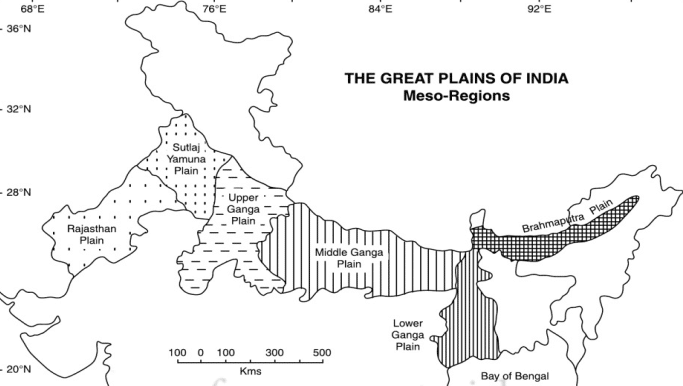 Indo-Gangetic Plain  northern plains of india