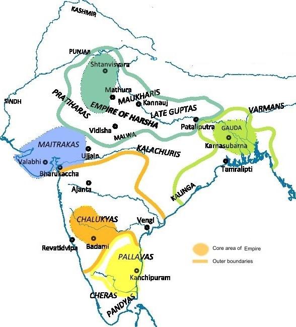 Chalukya dynasty Pallava dynasty