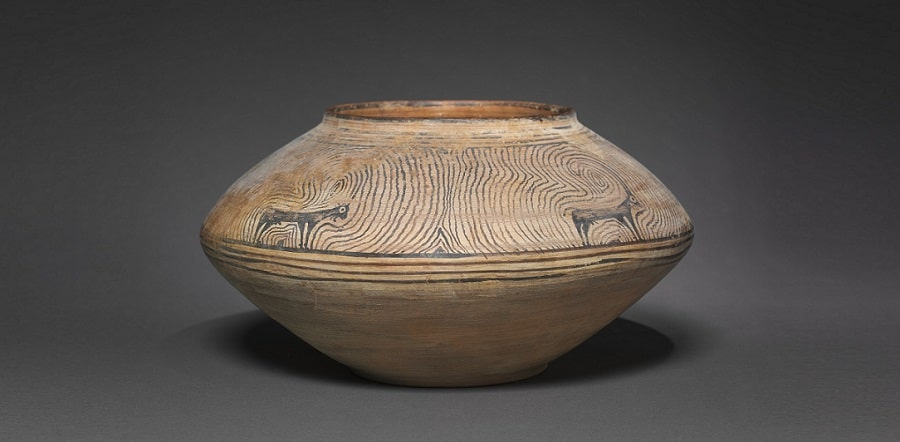 indus valley pottery