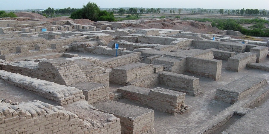Indus Valley Civilization Mohenjo daro excavation