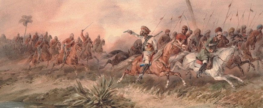 revolt of 1857 in india causes leaders sepoy mutiny indian rebellion