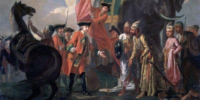 timeline of modern indian history british rule pdf chronology