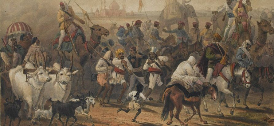 british rule in india timeline